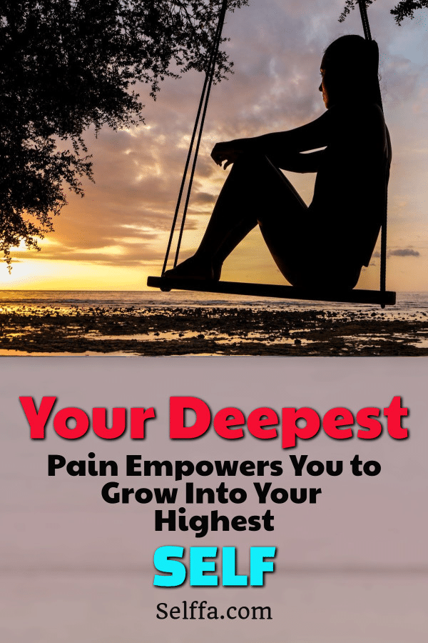 Pain empowers you