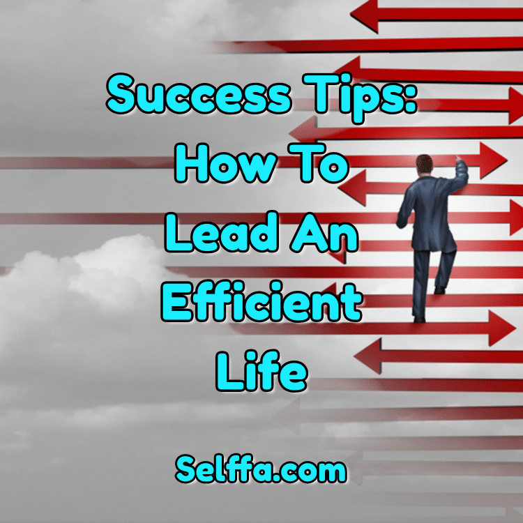 Success Tips How to Lead an Efficient Life