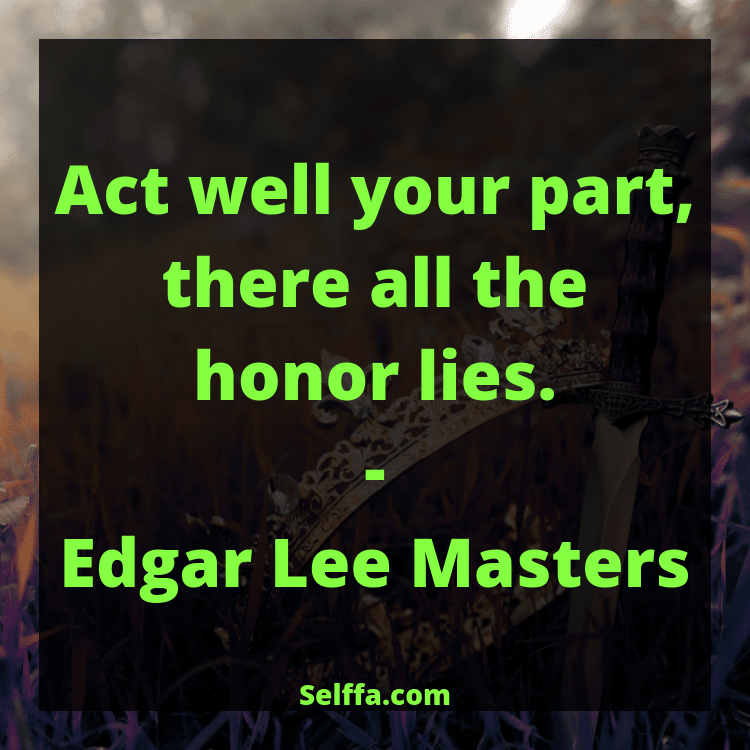 Quotes About Honor