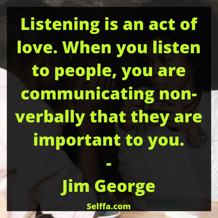 Quotes About Listening