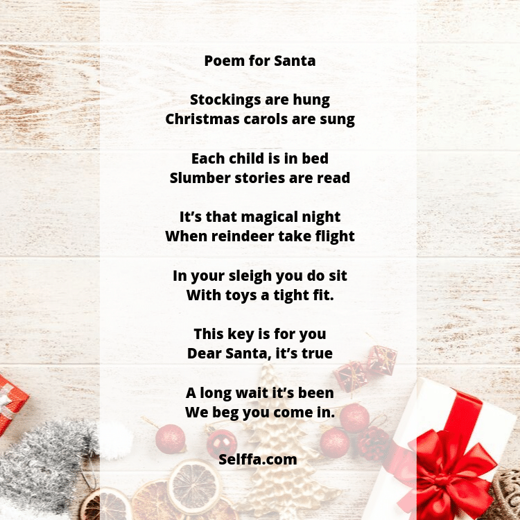 26 Christmas Poems - SELFFA