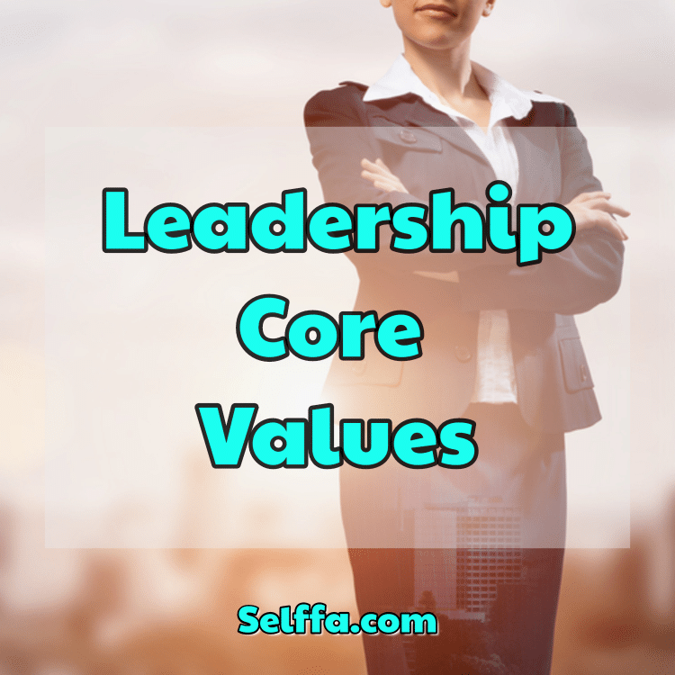 Leadership Core Values
