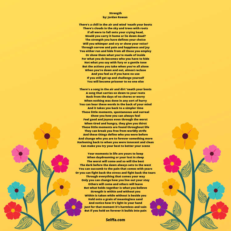 Poems About Strength