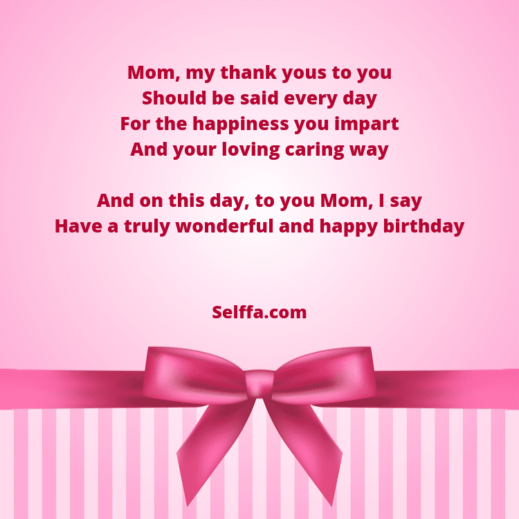 Outstanding 55 Birthday Poems For Moms Selffa Personalised Birthday Cards Veneteletsinfo