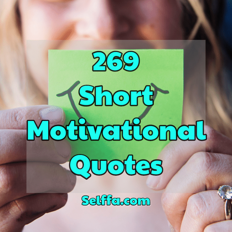 Short Motivational Quotes