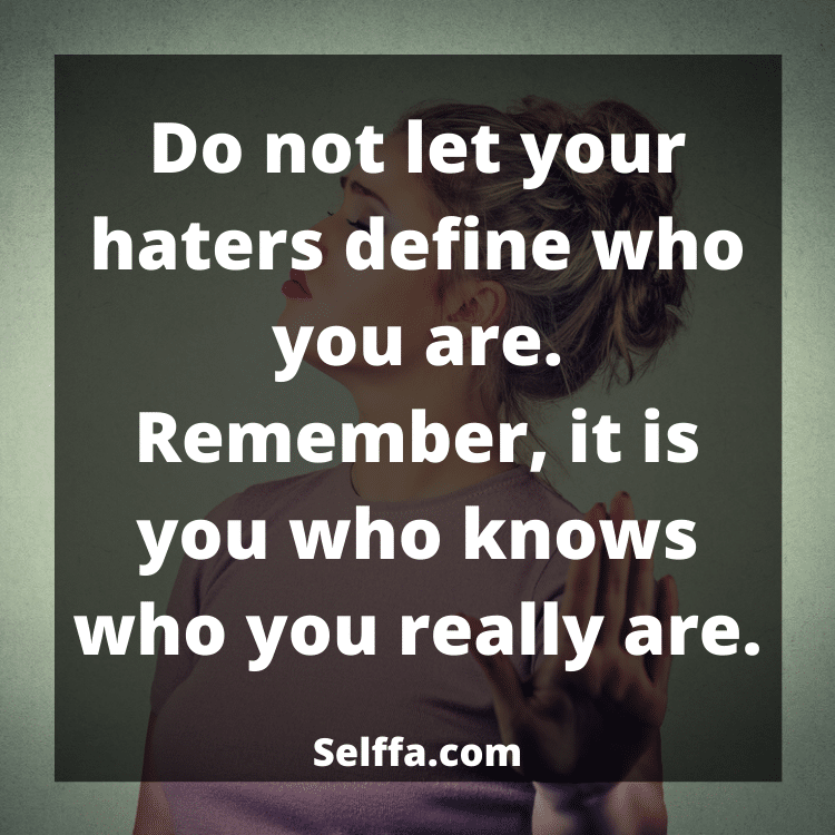 Haters Quotes